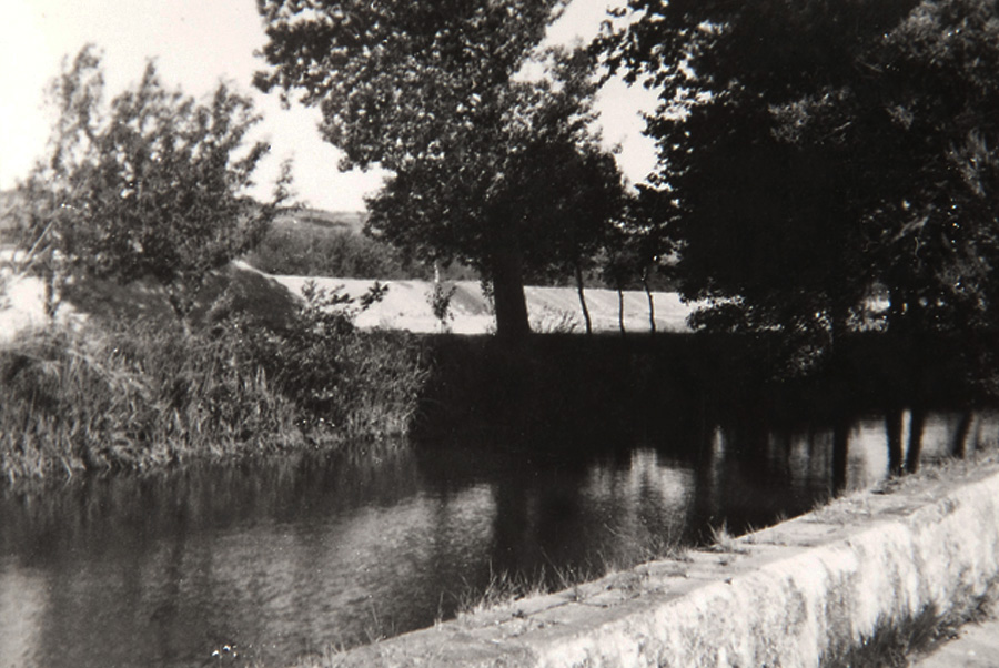 The river near La Farinera Sant Lluís